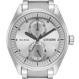 Citizen Eco-Drive Paradex Silver 43mm Watch